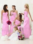 Pink Wedding Dress Size 12