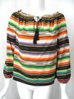 Peasant Striped Tops for Women