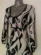 Black and White 60s Dress
