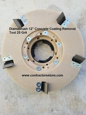 Diamabrush 12 Concrete Coating Removal Tool 25 Grit
