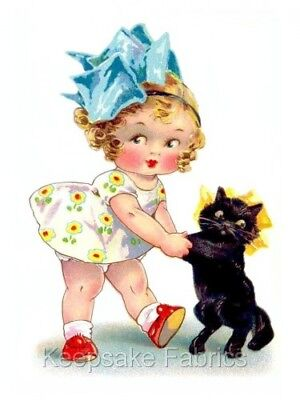 Southern Belle & Black Cat Quilt Block Multi Sizes FrEE ShiPPinG WoRld WiDE (S2