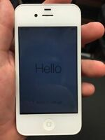 Iphone 4s Bell cellphone 16gb