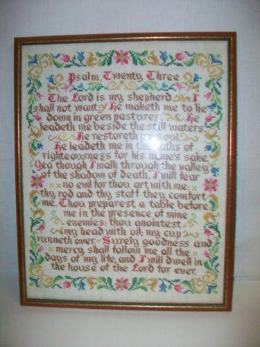 Framed Needlepoint | eBay