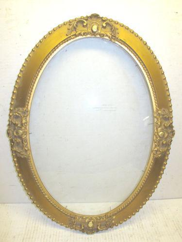 oval convex glass frames ebay