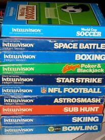 £££ cash paid - I am looking for a INTELLIVISION collection. Games, console, and accessories.