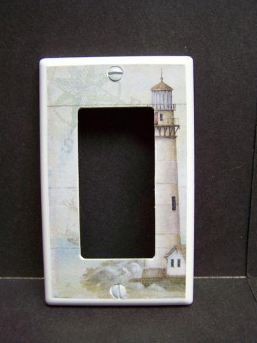 Lighthouse light switch cover ebay for Lighthouse switch plates
