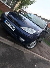 Ford Focus 2003 1.6 manual 8 MONTHS MOT!