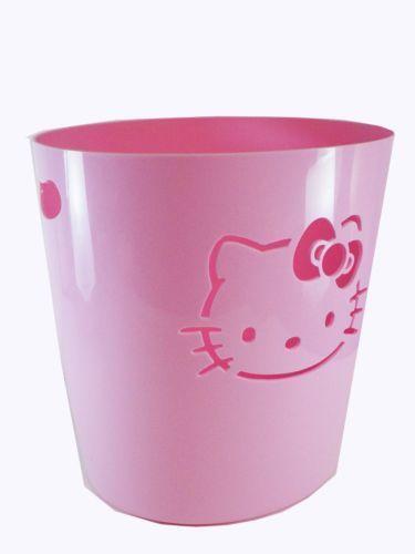 Pink trash can ebay - Pink kitchen trash can ...