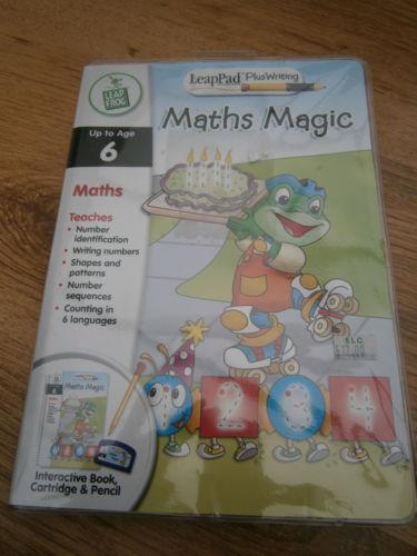 Leap Frog LeapPad Plus Writing Reading Writing & Math Book Cartridge Pre K - 1st