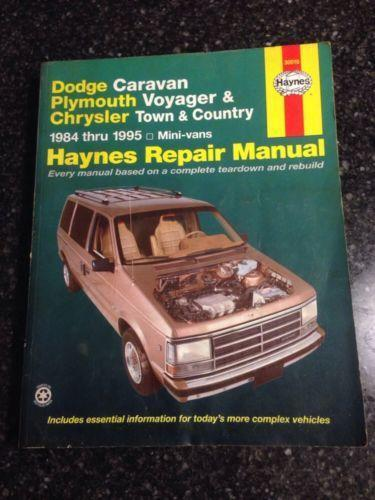 Chrysler town and country manual ebay fandeluxe Images