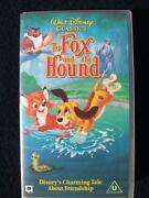 The Fox and The Hound VHS