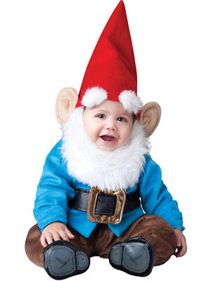 Toddler Garden Gnome Infant Halloween Costume](Infant Toddler Halloween Costumes)