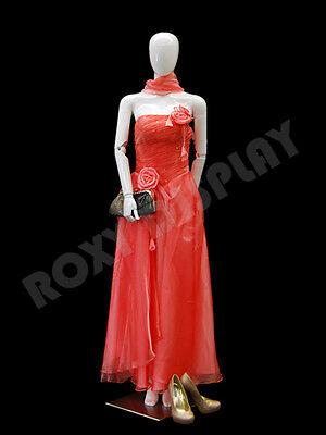 Female Unbreakable Plastic Mannequin Display Form Ps-j28