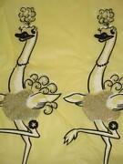 Vintage Bird Curtains