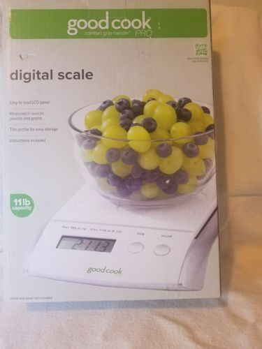 Goodcook 11lbs-Digital Scale LCD Read-out 20668