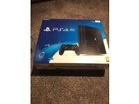 PlayStation 4 Pro 1TB for sale with 2 games