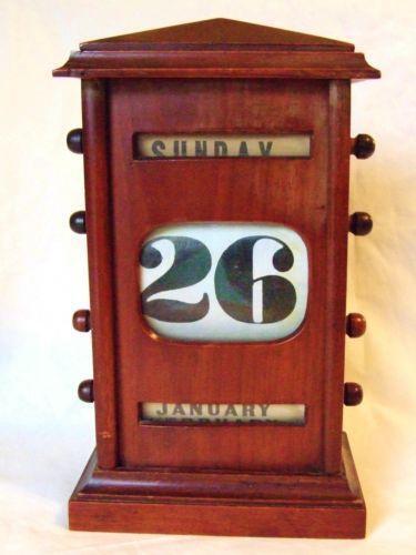 Perpetual Desk Calendar Ebay