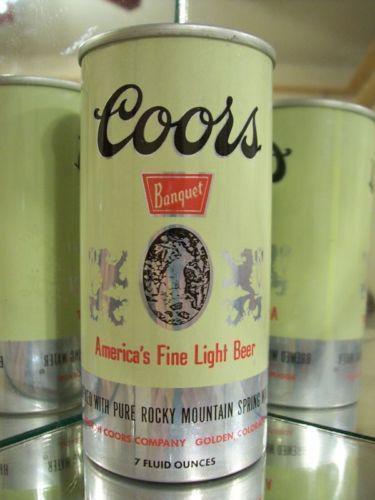 Coors Flat Top Beer Can | eBay