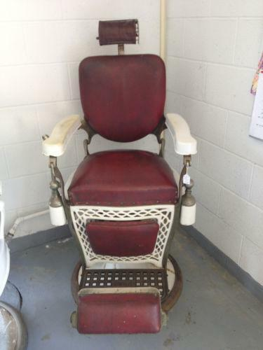 Vintage Barber Chair Ebay