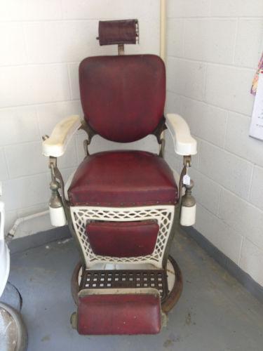 Vintage barber chair ebay for A j salon chicago