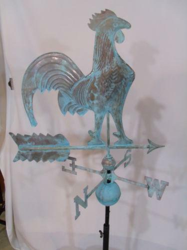 Antique Rooster Weathervane Ebay