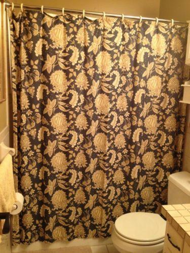 Pottery Barn Shower Curtain | eBay