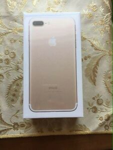 Brand new GOLD iPhone 7 plus