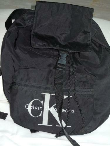 calvin klein backpack ebay. Black Bedroom Furniture Sets. Home Design Ideas
