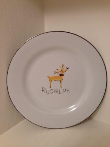 Pottery Barn Christmas Plates Ebay