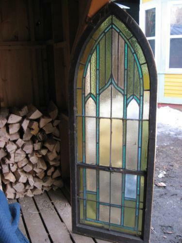 Gothic window ebay for Replacement windows for sale