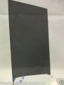Grey Smoke Black Tinted Acrylic Perspex Sheet Plastic A5