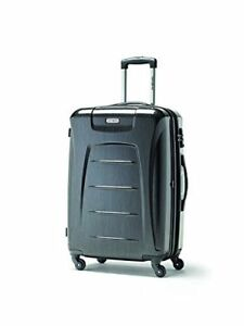 Samsonite Winfield 3 Fashion Spinner Luggage, Charcoal (Brushed)