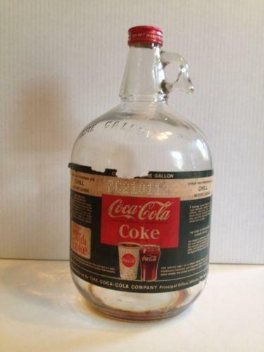 Coca Cola Syrup Bottle Ebay