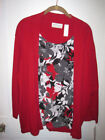 Cardigan Red Floral Cardigans for Women