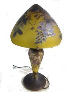 Art nouveau lamp ebay art nouveau table lamp aloadofball Images