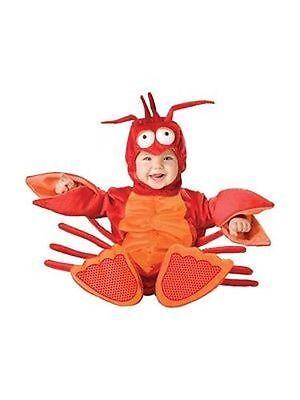 Incharacter Lil' Lobster Crustacean Infant Child Baby Halloween Costume 6025 - Lobster Halloween Costume Baby