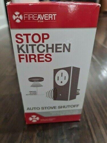 Fireavert Auto Stove Shutoff Stop Kitchen Fires Smoke Alarm Activate 4 Prong