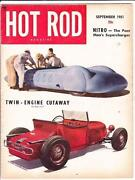 Hot Rod Magazine 1951