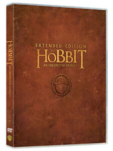 DVD  THE HOBBIT An Unexpected Journey  Extended Edition  Five Disc Set  NEW - <span itemprop='availableAtOrFrom'>Slough, United Kingdom</span> - DVD  THE HOBBIT An Unexpected Journey  Extended Edition  Five Disc Set  NEW - Slough, United Kingdom