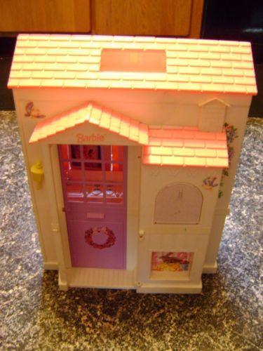 Barbie Fold Out House Ebay