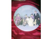 HIGHLY COLLECTIABLE FOUR GENERATIONS BONE CHINA PLATE ONLY £80.00