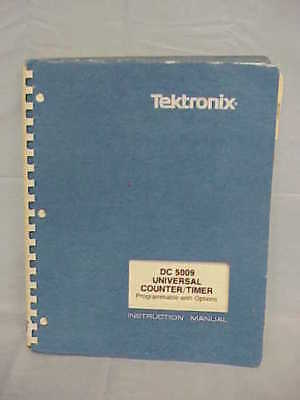 Tektronix Dc 5009 Instruction Manual Schematics