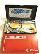 Mitutoyo Point Micrometer