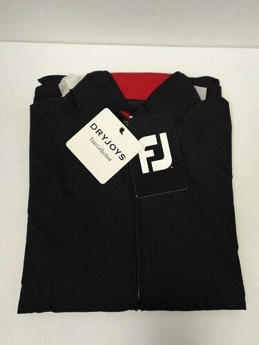 FootJoy Dryjoys Tour Rain Jacket- 100% Waterproof -Black  #34435