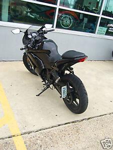 Ninja 600 ZX-6R side mount,BLACK License Plate Relocator