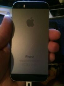iPhone 5c Black and silver 16gb