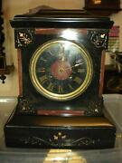 Slate Mantel Clock