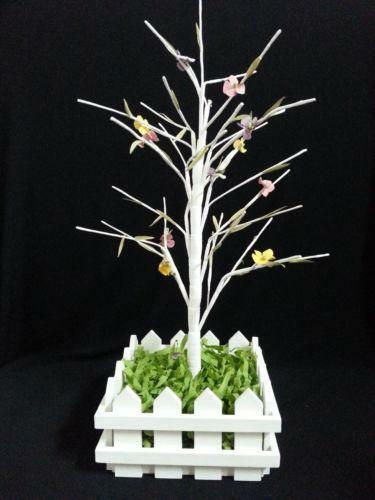 White Easter Tree Ebay