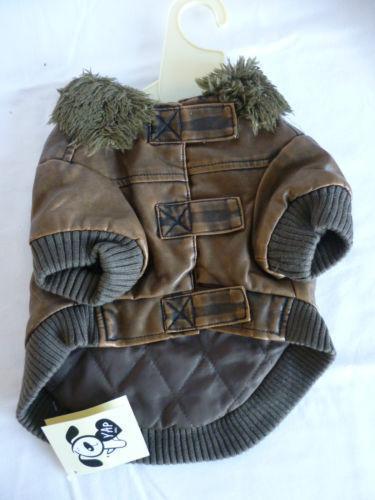 Dog Leather Jacket Ebay
