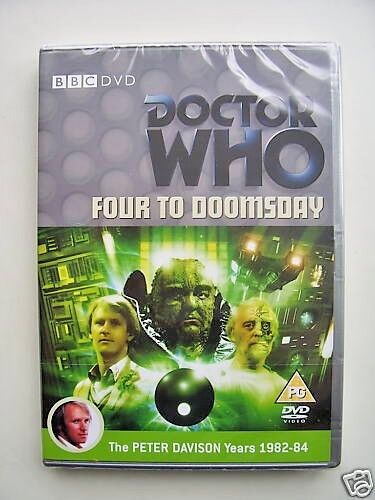 Doctor Who - Four To Doomsday (DVD, 2008) - Peter Davidson - NEW and SEALED